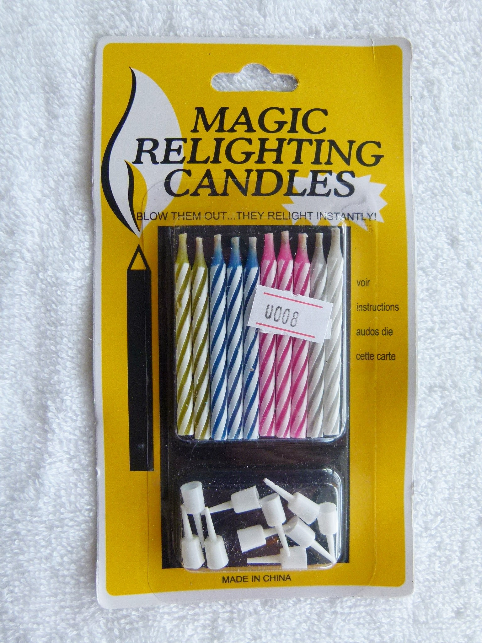 Magic relighting candles # 8 (2)