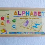 Alphabet wooden