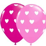 12 inch mixed colour balloons